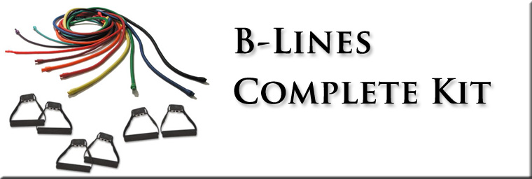 B-Line Resistance Bands Complete Kit, resistance bands, Beachbody