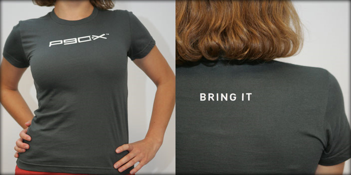P90X womens Tee, tshirt, P90X Workout, PX90, Beachbody