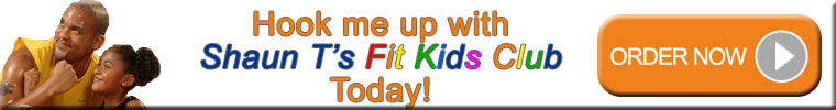 Shaun T and the Kids, Shaun T, beachbody, workout