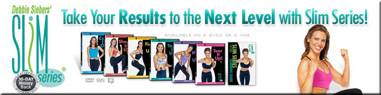 Slim in 6, Slim in Six, Debbie Siebers, Slim Series, Beachbody