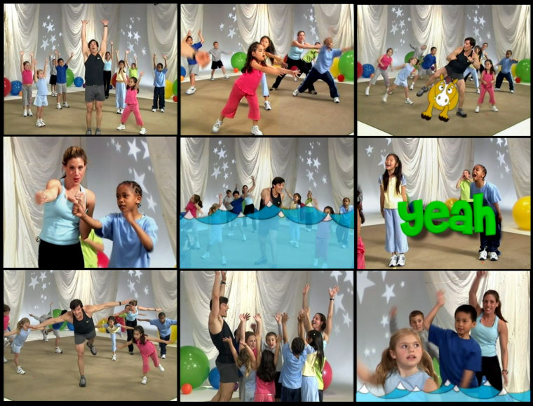 Tony Horton, Tony and the Kids, exercise, fitness, Beachbody